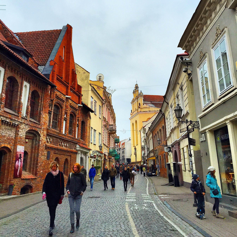 вильнюс фото старого города конструкторы полной разыграли